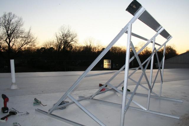 Solar Collector Sees Sun Set