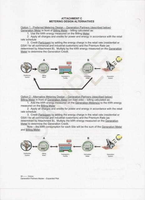 Metering Design Plan form JEA-TVA 2009